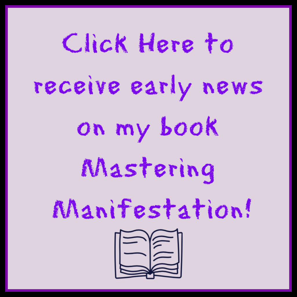 Click here for early news on Shannon's upcoming book, Mastering Manifestation!